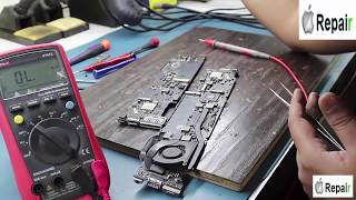 Apple MacBook Repair with no power on dead logic board repaired