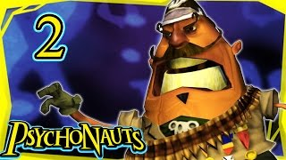 Let's Play Psychonauts Part 2 - Basic Braining [Gameplay/Walkthrough]
