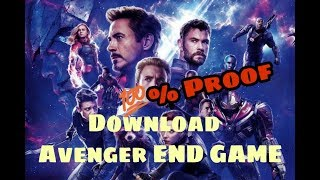 Avengers End Game full movie Download | 100% Download | Avenger End Game LEAK Download