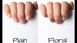 Stylish nail polishes - using Photoshop !