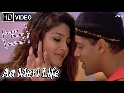 Aa Meri Life (HD) Full Video Song | Kahin Pyaar Na Ho Jaaye | Salman Khan, Raveena Tandon |