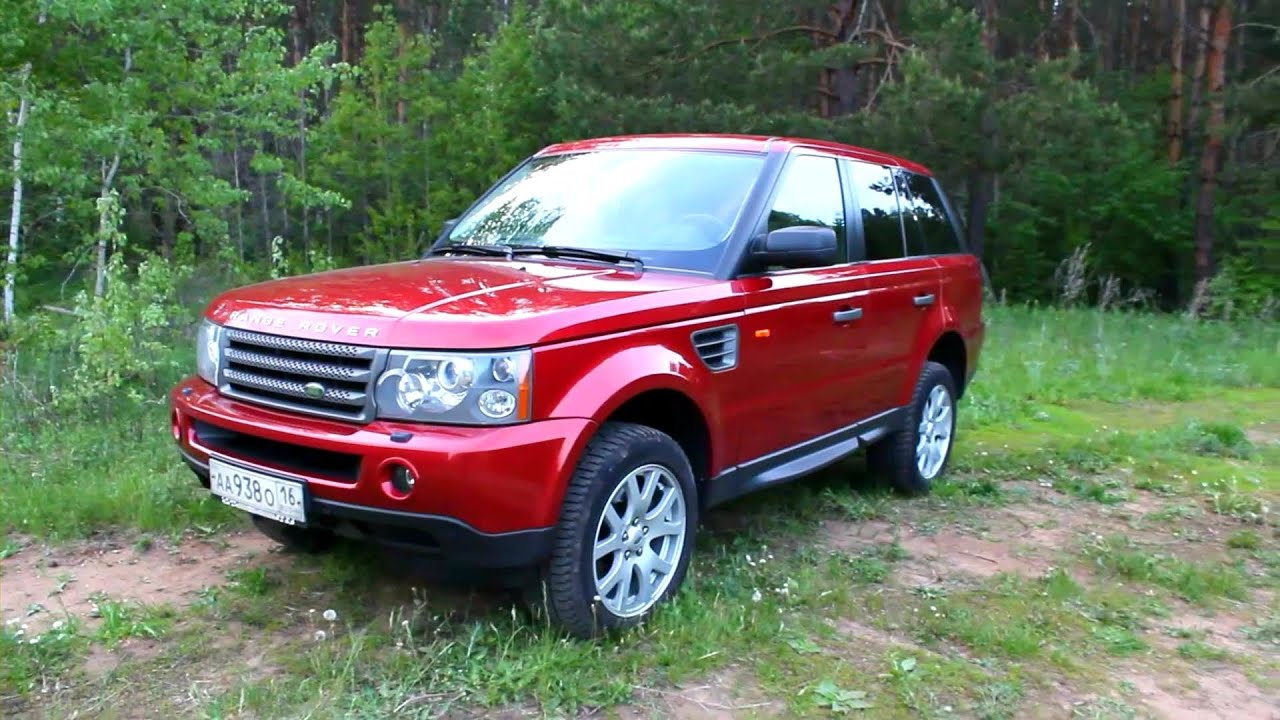 2007 Range Rover Sport Start Up Engine and In Depth Tour