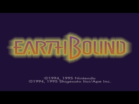 Let's Play Earthbound (BLIND) Part 1: JUST A SMALL TOWN BOY