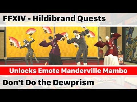 ✅ FFXIV Unlock Emote Manderville Mambo - Don't Do the Dewprism