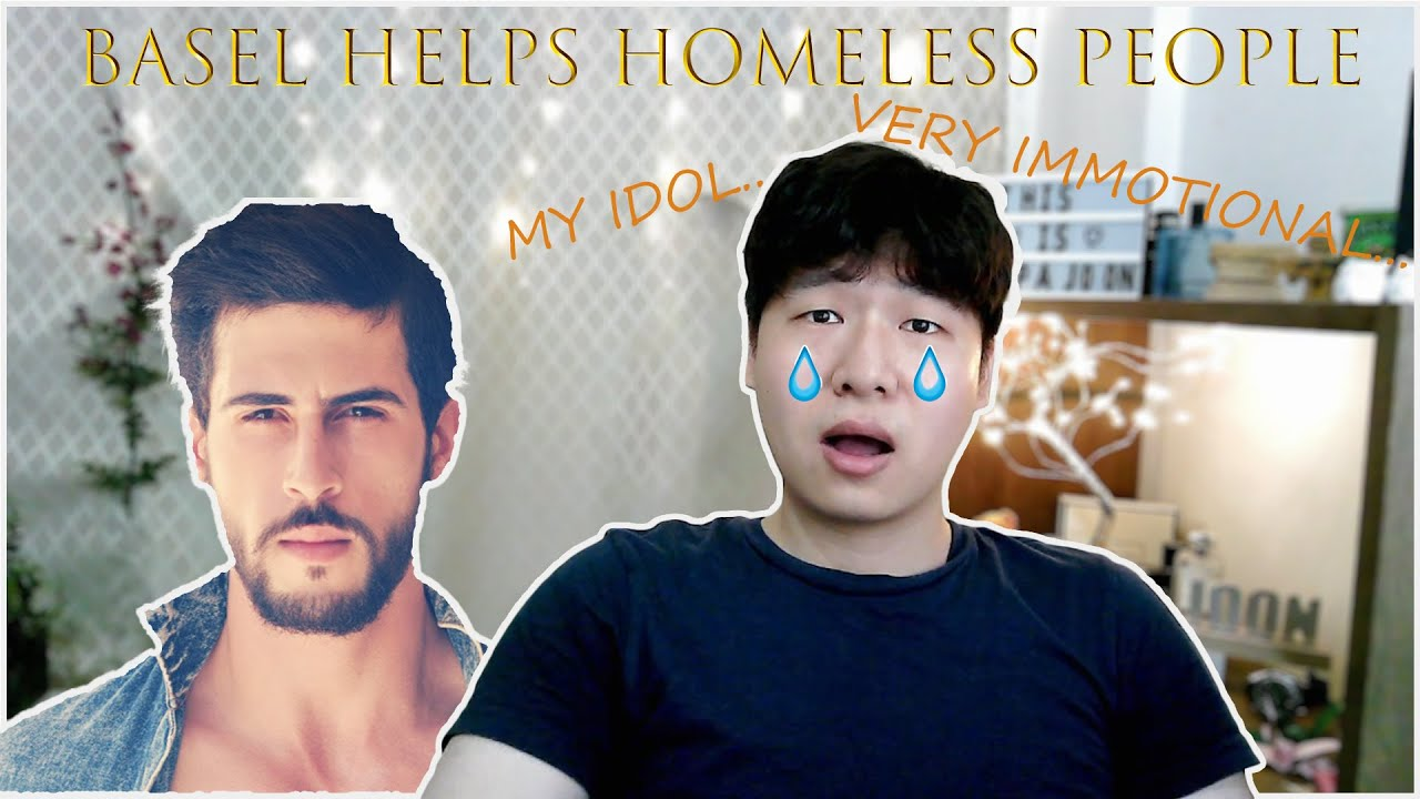 VERY IMMOTIONAL.. * Basel helps homeless man in the streets.. * reaction *oppajoon