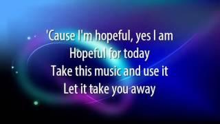 Bars & Melody - Hopeful - Lyrics