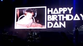 Singing Happy Birthday to Dan @ Marés Vivas, Portugal 2017