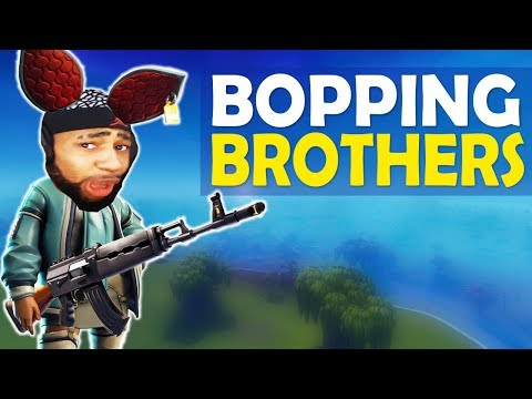 BOPPING BROTHERS!  HEAVY AR IS NASTY!  HIGH KILL FUNNY GAME Fortnite Battle Royale