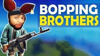 BOPPING BROTHERS! | HEAVY AR IS NASTY! | HIGH KILL FUNNY GAME- (Fortnite Battle Royale)