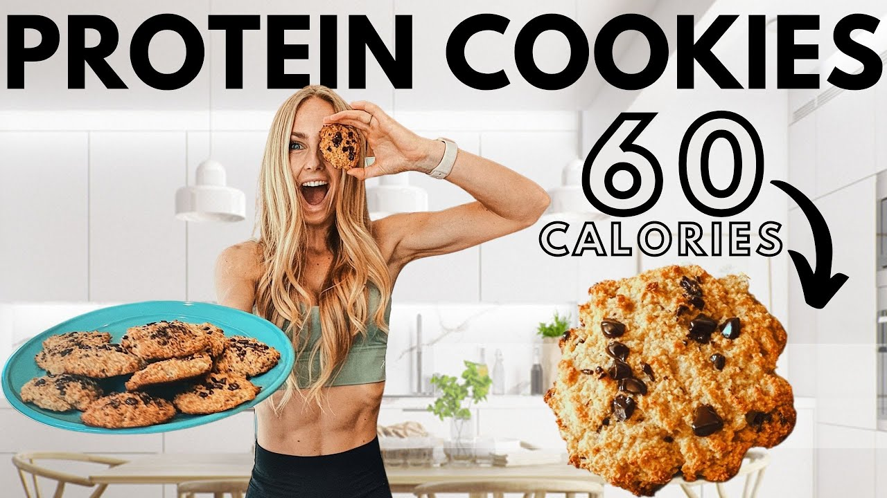 60 CAL Protein Coconut Chocolate Chip Cookies for abs, weight loss or any anabolic cookie lovers!