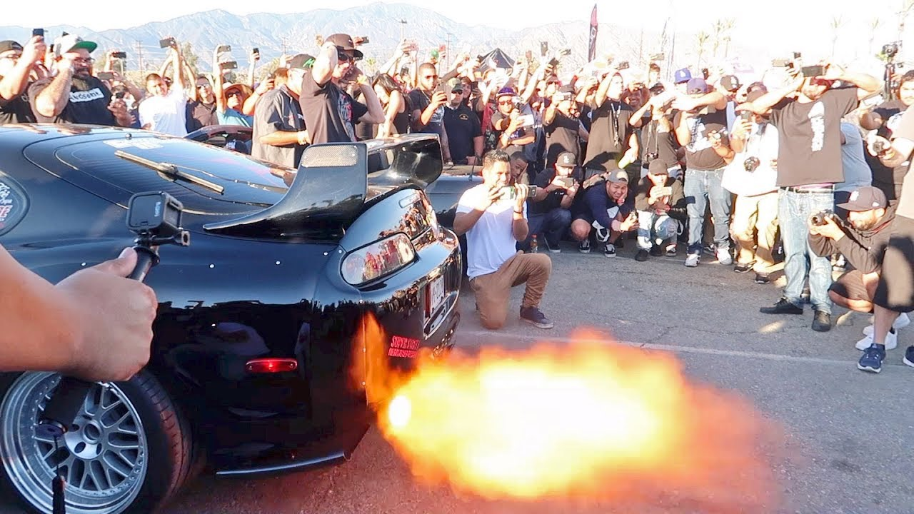 2017 Toyota Supra >> INSANELY LOUD Toyota Supra vs Nissan GTR R34 Ultimate Rev ...