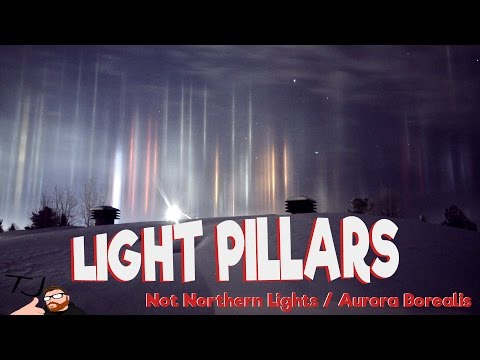Mysterious pillars of light spotted in Canada's night sky [VIDEO] - IBTimes India