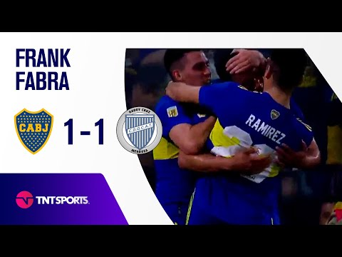 ¡GOL DE BOCA! Frank Fabra   Boca Juniors vs Godoy Cruz (1-1)   Fecha 17-Torneo de la Liga 2021