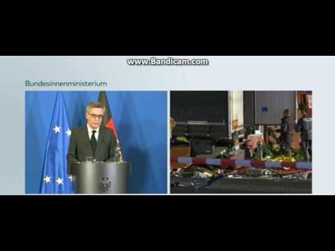Pressekonferenz Bundesinnenminister 20.12.16  zum Terroranschlag in Berlin