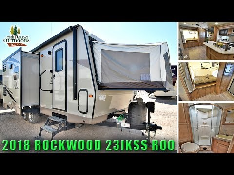 New 2018 ROCKWOOD 23IKSS ROO Hybrid Expandable Pop Out Colorado Camper