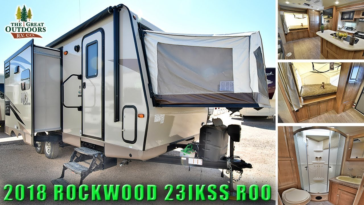 Forest River Rockwood >> New 2018 ROCKWOOD 23IKSS ROO Hybrid Expandable Pop Out
