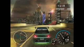 Need For Speed Underground 2 - Hidden/Secret race Sprint #13 - Beacon Hill