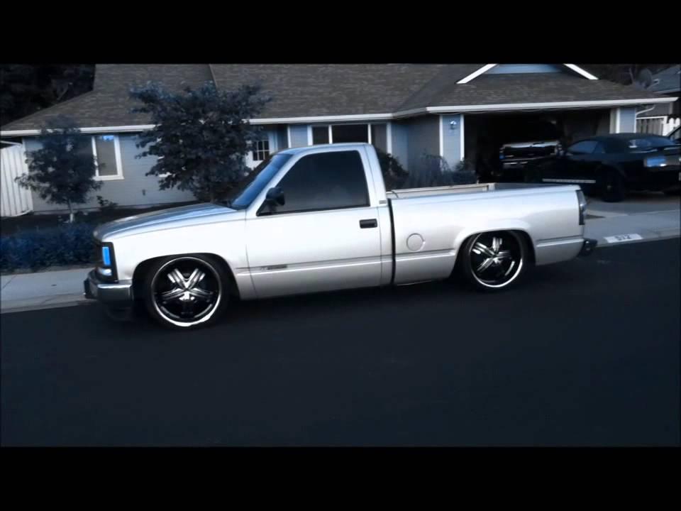 Chevy Silverado On Airbags