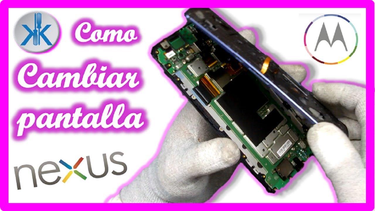 f7d88cc1553 👍✓ COMO CAMBIAR PANTALLA NEXUS 6 Google - YouTube
