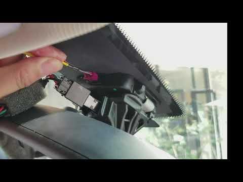 Hidden Dash Camera For BMW 1 2 3 4 5 6 7 X1 X2 X3 X4 X5 X6 Series  Intallation