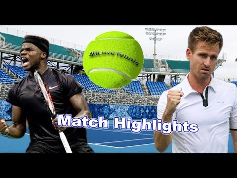 Peter Gojowczyk vs Frances Tiafoe -  DELRAY BEACH Final
