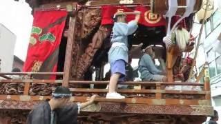 関東一の祇園 熊谷うちわ祭2016 2日目.