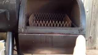 Oklahoma Joe's Longhorn Smoker Modifications -Sealing it up (Part 2)