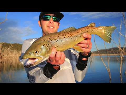 Lake Eucumbene's Hughe Lure Caught Trout
