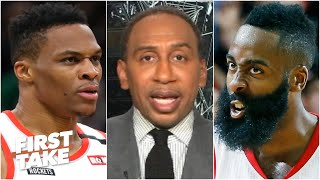 Stephen A.: Russell Westbrook is more important to the Rockets than James Harden | First Take