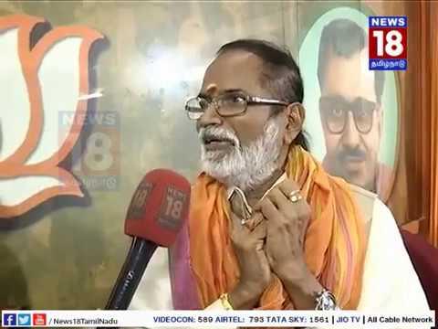 Interview with Gangai Amaran | RK Nagar BJP Candidate | News18Tamilnadu