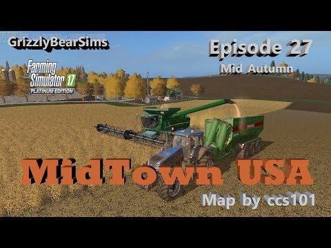 Farming Simulator 17 ᴴᴰ  MidTown USA by ccs101 🚜  Episode 27