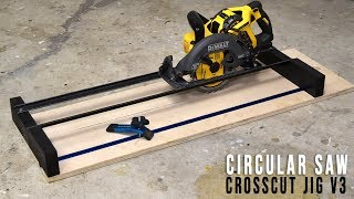 DIY Circular Saw Crosscut and Router Jig