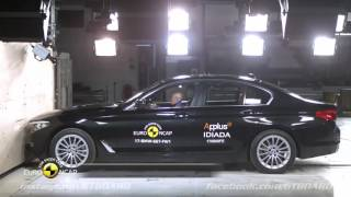 G30 BMW 5-series Crash Test Euro NCAP: 5 stars! *****