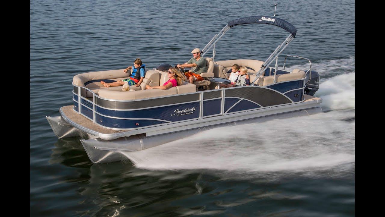 Godfrey Pontoon Boats Sweetwater Premium 220 Sl Rough