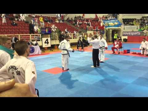 England vs Scotland team sparring ITF European championships 2016, Thessaloniki, Greece