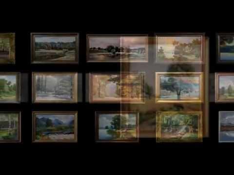 Картины художников Украины и Японии в Киеве