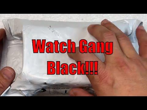 $99 Watch Gang Black Subscription Box February 2020 Watch Box Opening!!!