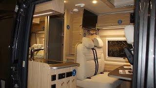 Hymer 'Aktiv' Camper Van, Walk Through