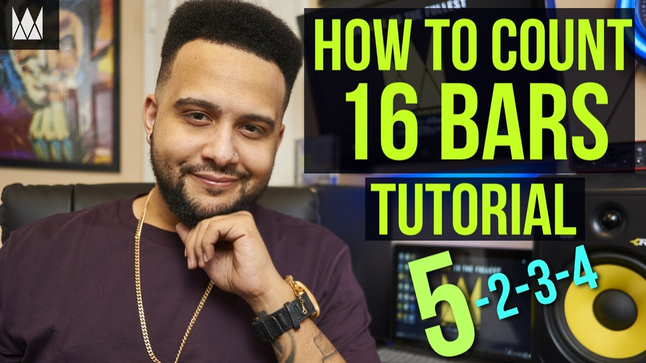 How To Count and Write 16 Bars in Rap | CurtissKingBeats com