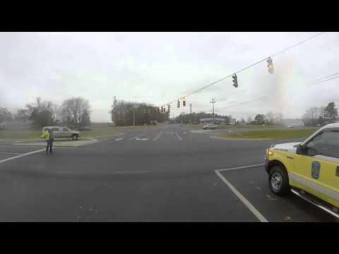 Selbyville DE Fire Engine 88-1 Responding POV w/ Powercall