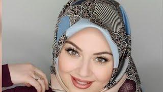 Simple Turkish Hijab Tutorial  💝harika Eşarp Bağlama Modelleri ❤️ لفات حجاب ايشاربات تركية