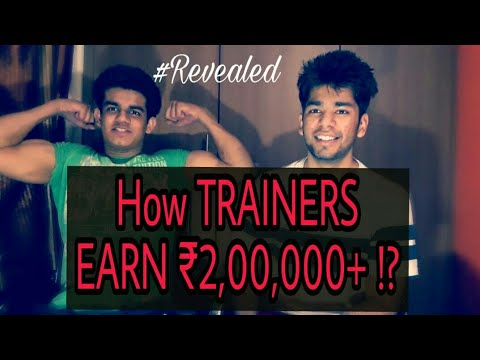 How Indian Trainers earn more than 2,00,000 lakhs per month?   Fitness bulls Interview