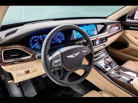 2017 HYUNDAI GENESIS G90 INTERIOR REVIEW