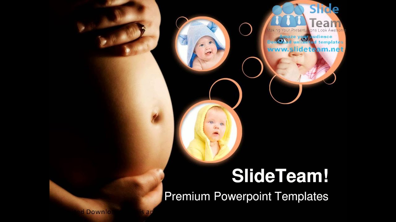 Pregnancy Concept Family PowerPoint And Backgrounds And Templates ...