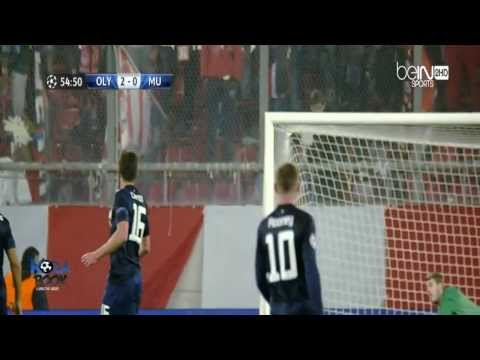 [HD] Olympiakos Piraeus 2-0 Manchester United All Goals & Highlights 25/2/2014