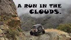 A Run In The Clouds, Crown King Arizona