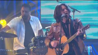 Bernard Fanning - Wasting Time (AFL Footy Show 2016)