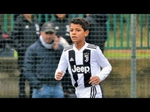 Ronaldo'nun Oğlu Yetenekleri İle Babasını Geçiyor.. Futbolun Yeni Kralı ????