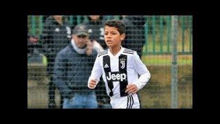 Ronaldo'nun Oğlu Yetenekleri İle Babasını Geçiyor.. Futbolun Yeni Kralı