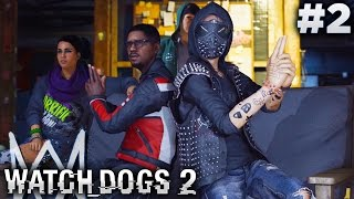 Watch Dogs 2 (PS4) - Mission #2 - Hack and Run